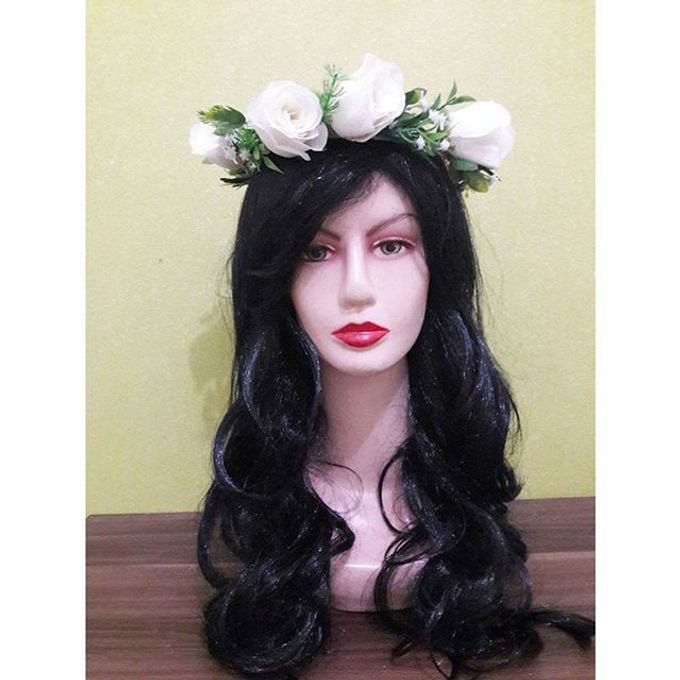 Flower Crown / Bando Bunga / Mahkota Bunga by Estrella Flower Crown - 036