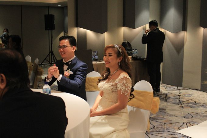 MC Wedding Double V Entertainment at JHL Solitaire Serpong by Double V Entertainment - 016