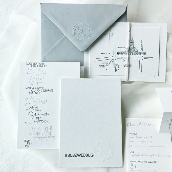 Clean Editorial | Ken & Lyn by dora prints and paper goods - 001