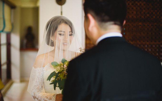 Wedding of Vina & Simon by Hilton Bali Resort - 019