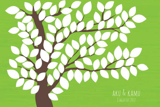 Canvas Guestbook Wedding Artwork ( Tree-01) by Bikinseru.aja - 004