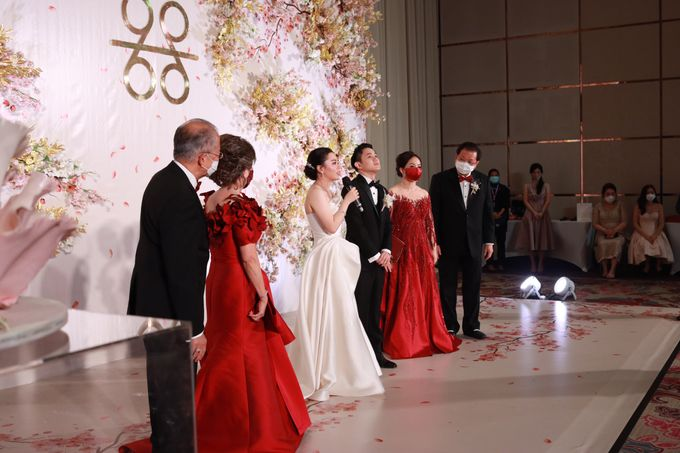 MC Teapai and New Normal Intimate Wedding Fairmont Hotel Jakarta - Anthony Stevven by Anthony Stevven - 008