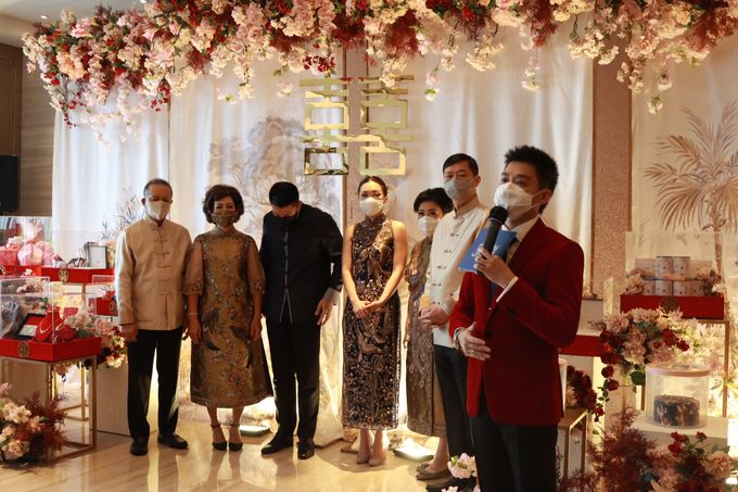 Sangjit House Of Yuen Hotel Fairmont Jakarta - MC Anthony Stevven by NOMA Jewelry & Accessories - 026