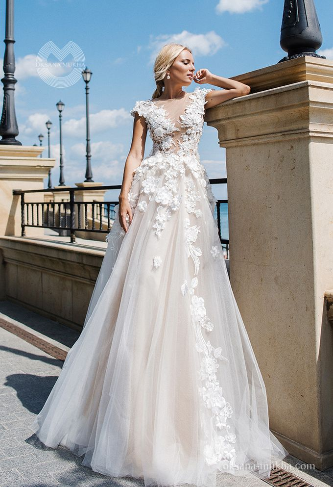 Weddiong Collection 2019 by OKSANA MUKHA - 010