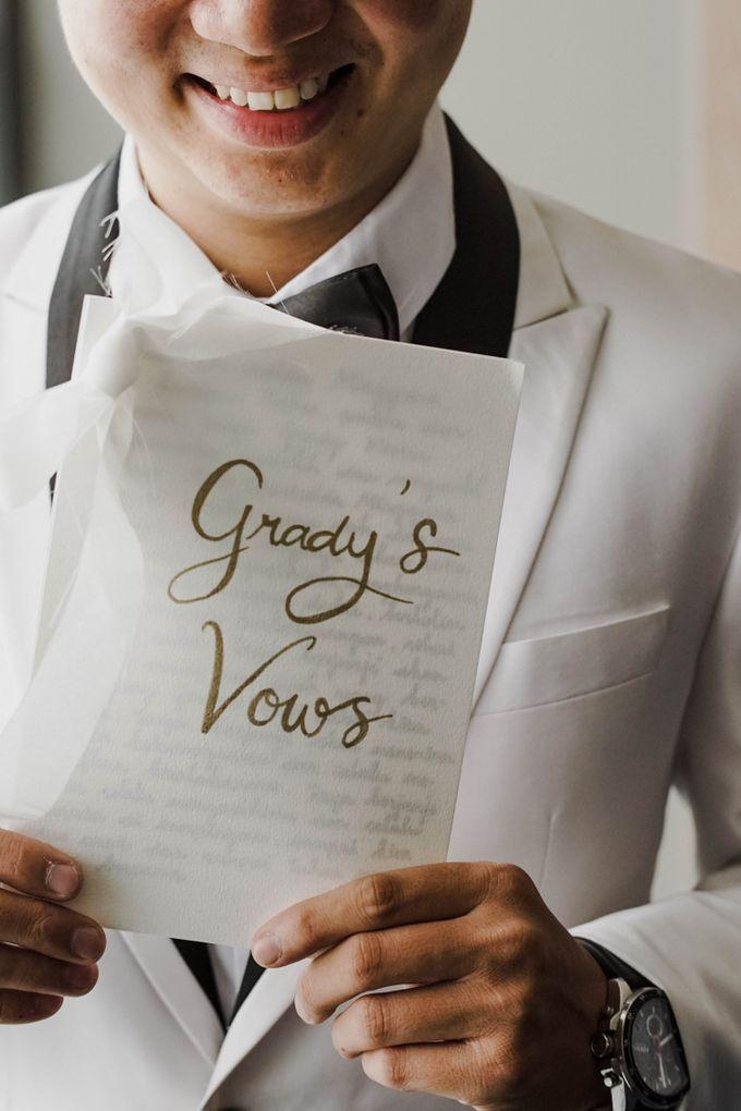 The Wedding Of Grady & Kezia by delazta wedding coordinator - 005