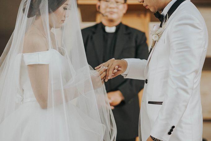 The Wedding Of Grady & Kezia by delazta wedding coordinator - 007