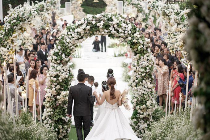 The Wedding Of Grady & Kezia by delazta wedding coordinator - 026