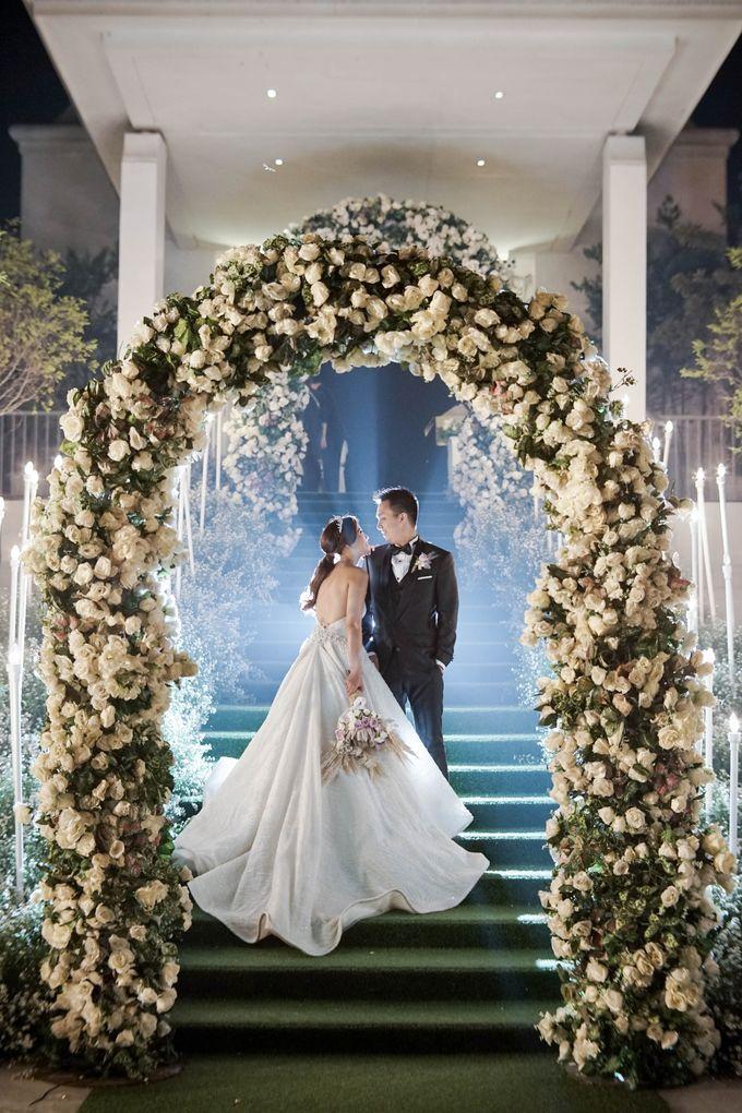 The Wedding Of Grady & Kezia by delazta wedding coordinator - 029