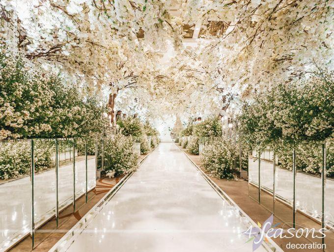 The Wedding of Dana & Hendri by 4Seasons Decoration - 001