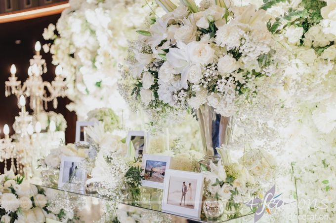 The Wedding of Dana & Hendri by 4Seasons Decoration - 002