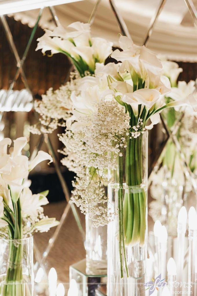 The Wedding of Dana & Hendri by 4Seasons Decoration - 005