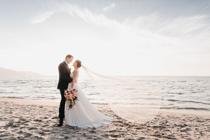 Garden Wedding by the beach by My Love Momentz - 033