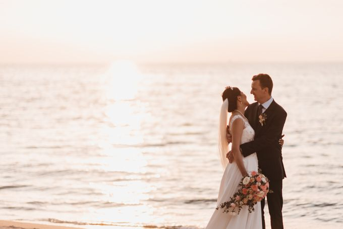 Garden Wedding by the beach by My Love Momentz - 039
