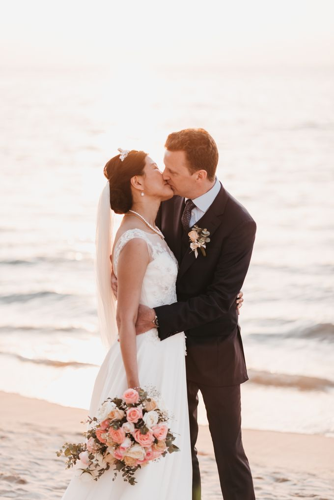 Garden Wedding by the beach by My Love Momentz - 040
