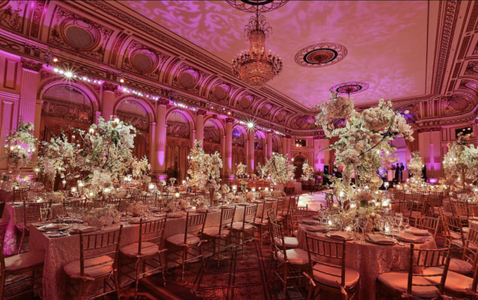 Opulent classical wedding with custom structures by Daniel Events - 004