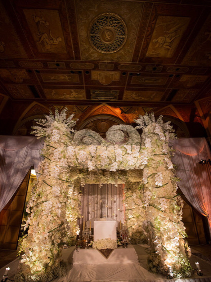 Opulent classical wedding with custom structures by Daniel Events - 001
