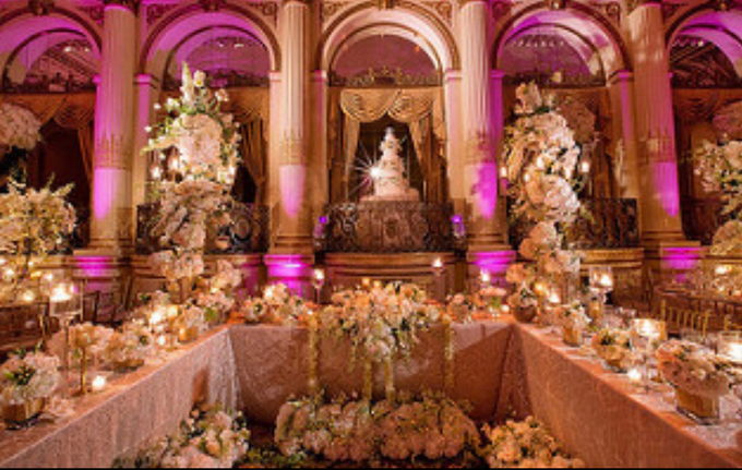 Opulent classical wedding with custom structures by Daniel Events - 005
