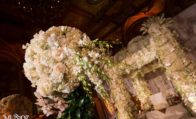 Opulent classical wedding with custom structures by Daniel Events - 002