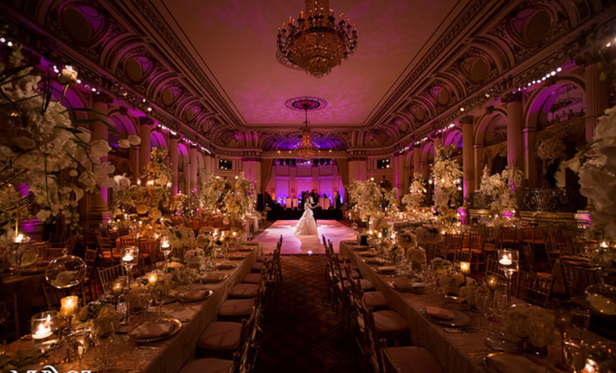 Opulent classical wedding with custom structures by Daniel Events - 006