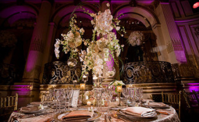 Opulent classical wedding with custom structures by Daniel Events - 007