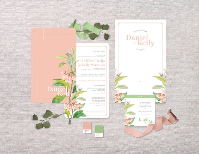Daniel & Kelly by Petite Chérie Invitation - 001