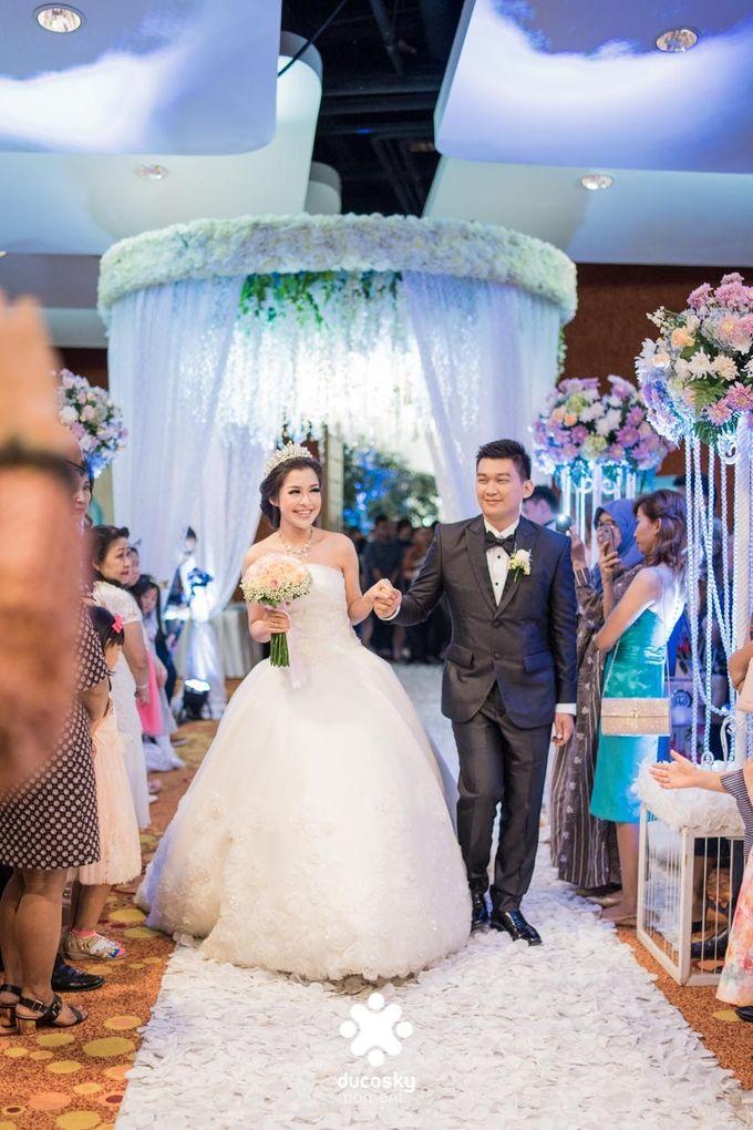 Daniel Maya Wedding | Reception by Sugarbee Wedding Organizer - 014