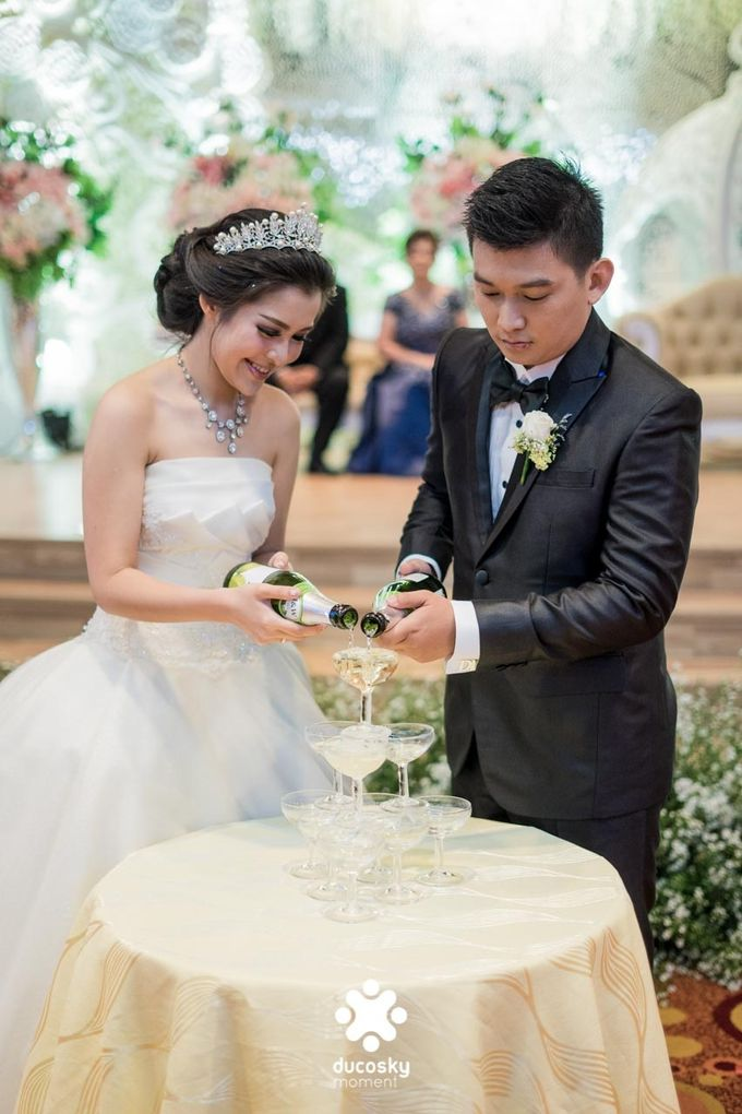 Daniel Maya Wedding | Reception by Sugarbee Wedding Organizer - 022