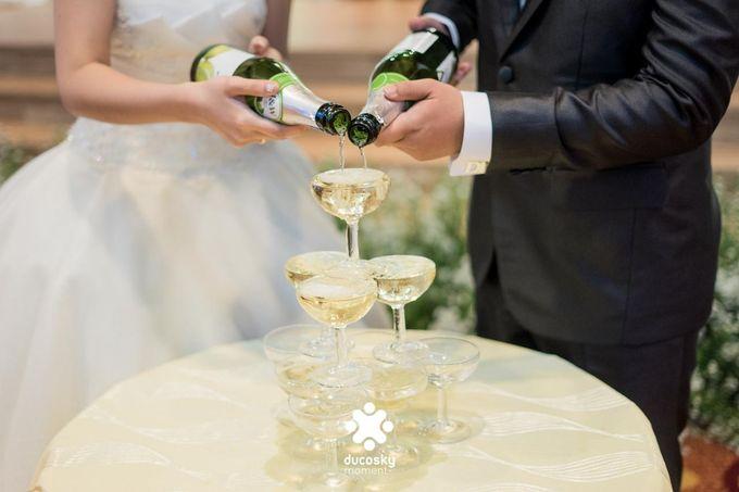 Daniel Maya Wedding | Reception by Sugarbee Wedding Organizer - 023