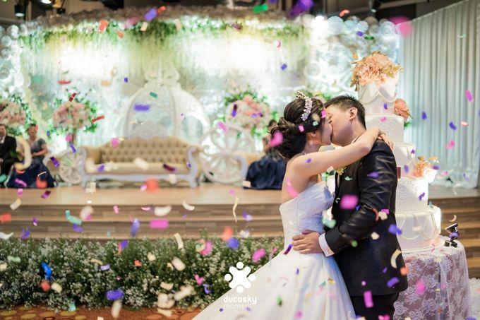 Daniel Maya Wedding | Reception by Sugarbee Wedding Organizer - 026