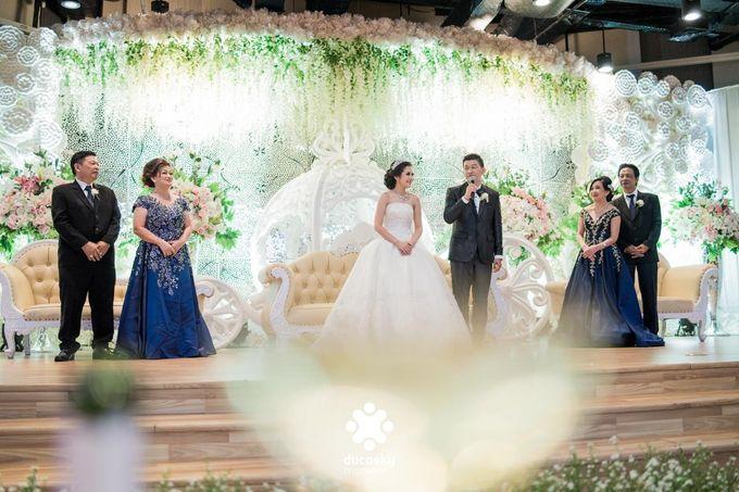 Daniel Maya Wedding | Reception by Sugarbee Wedding Organizer - 028
