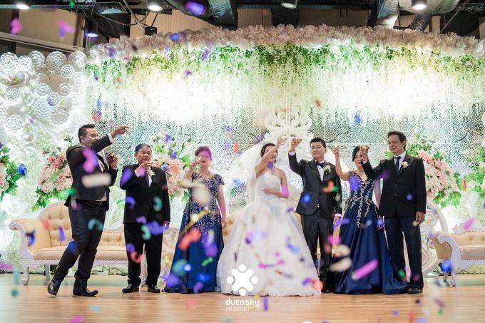 Daniel Maya Wedding | Reception by Sugarbee Wedding Organizer - 030