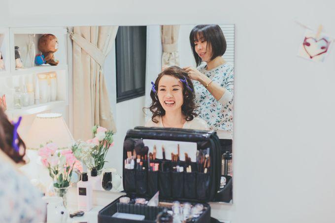 Wei Ting ❤️ Daniel - AD by Jen Lim Makeup Artist - 003