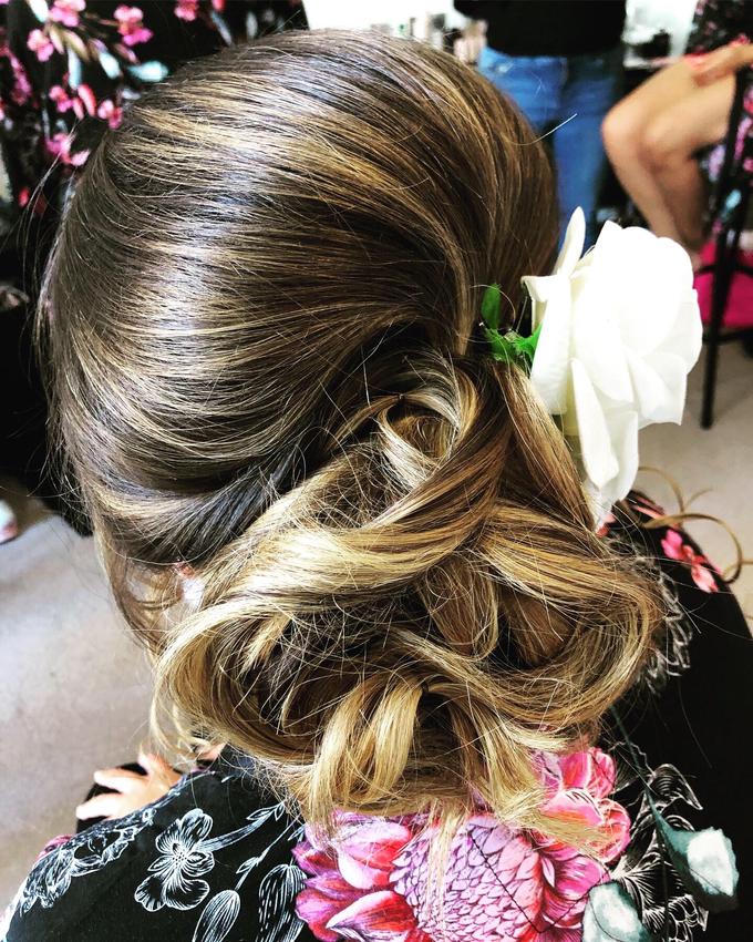 Bridal & events hair  by Danielle Marouzet Hair Design - 027