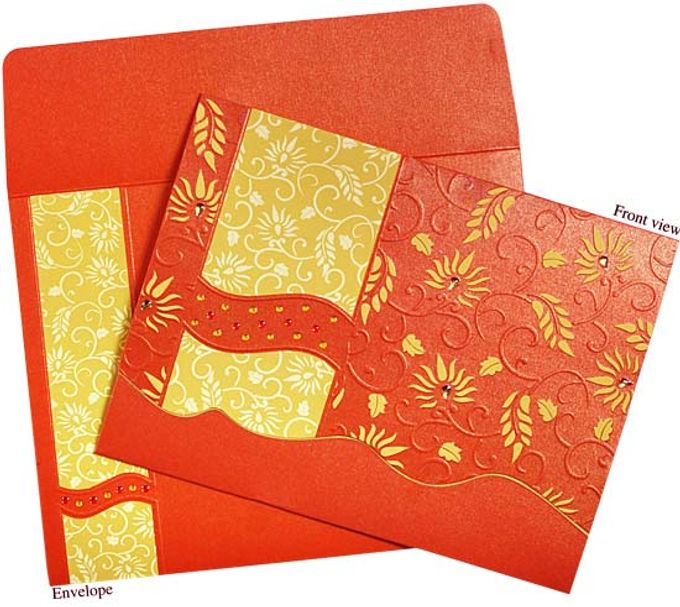 Hindu Wedding Invitations by A2zWeddingcards - 001