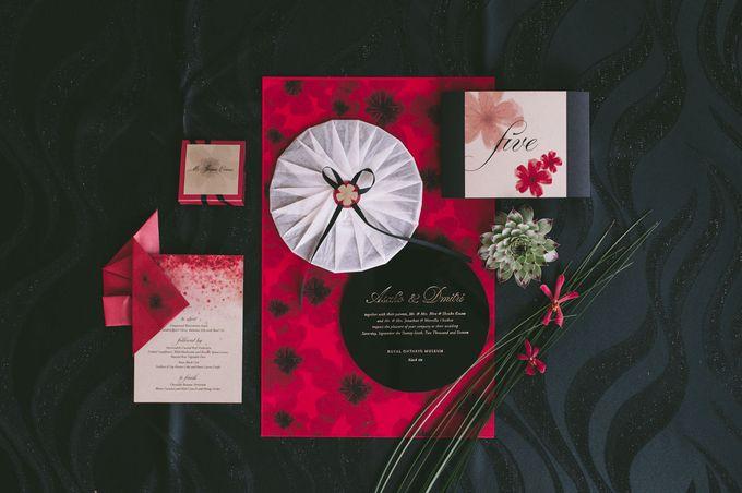 Dark Fantasy Asian Wedding Style Editorial Shoot by Asian Fusion Weddings - 019