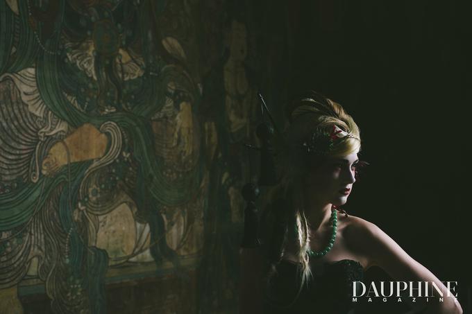 Dark Fantasy Asian Wedding Style Editorial Shoot by Asian Fusion Weddings - 001