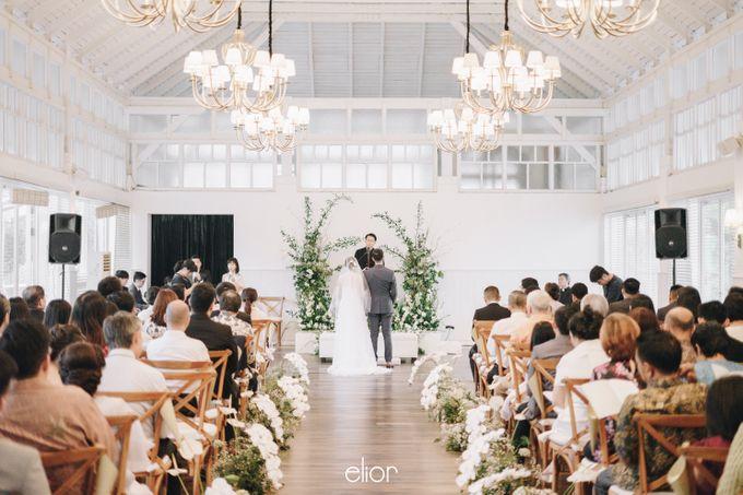 The Wedding Of David & Felicia by Elior Design - 034