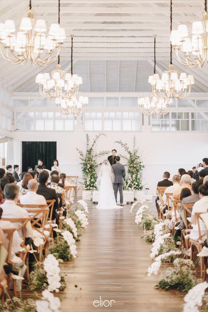The Wedding Of David & Felicia by Elior Design - 035