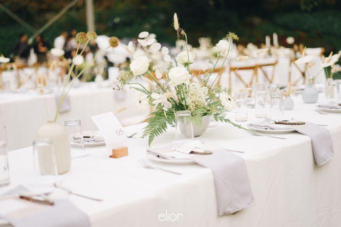 The Wedding Of David & Felicia by Elior Design - 036