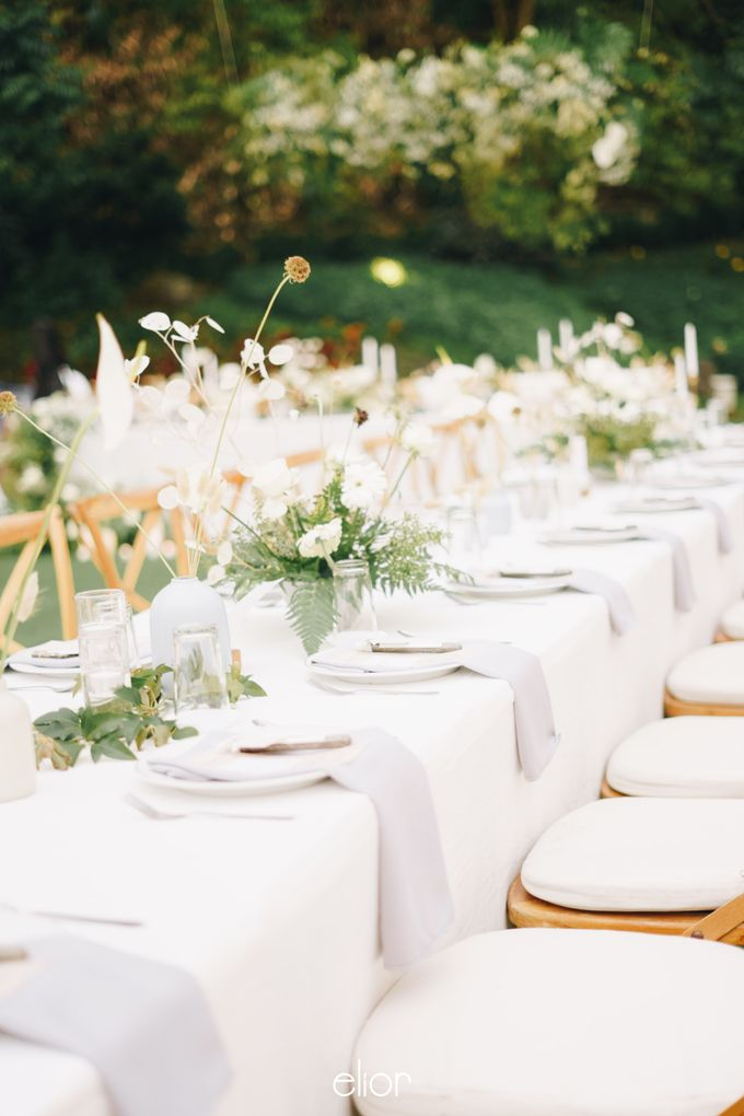 The Wedding Of David & Felicia by Elior Design - 037