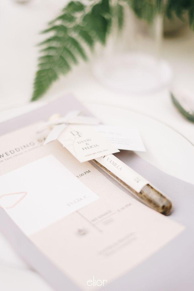 The Wedding Of David & Felicia by Elior Design - 038