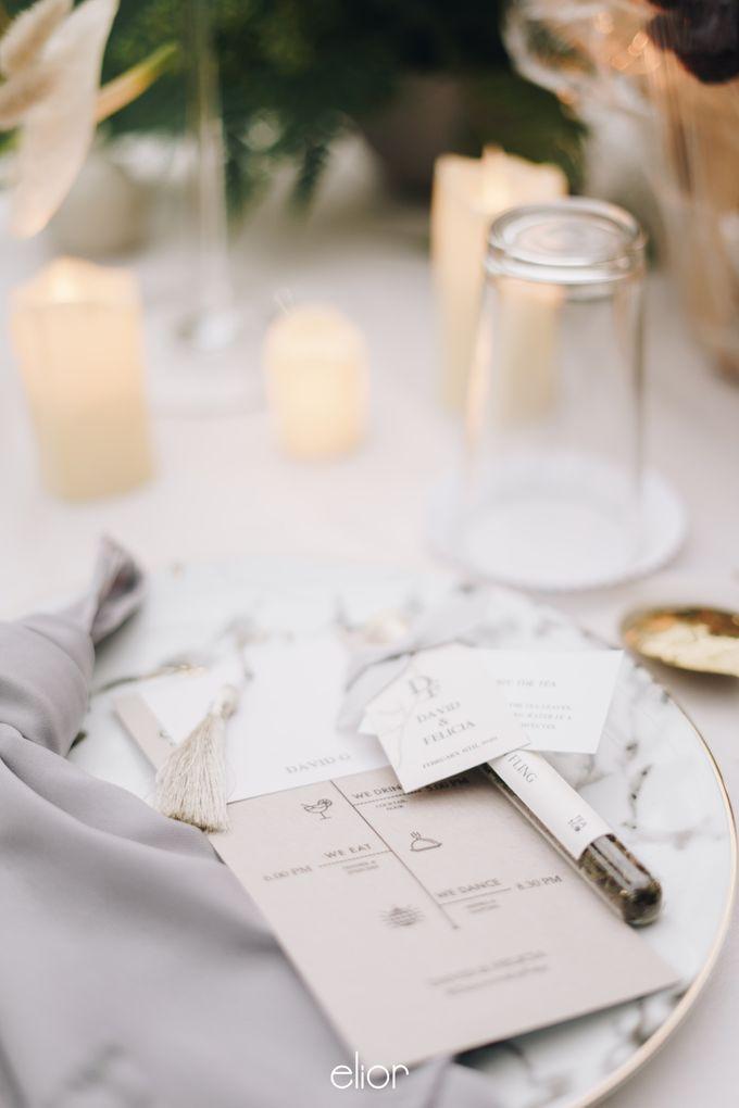The Wedding Of David & Felicia by Elior Design - 039