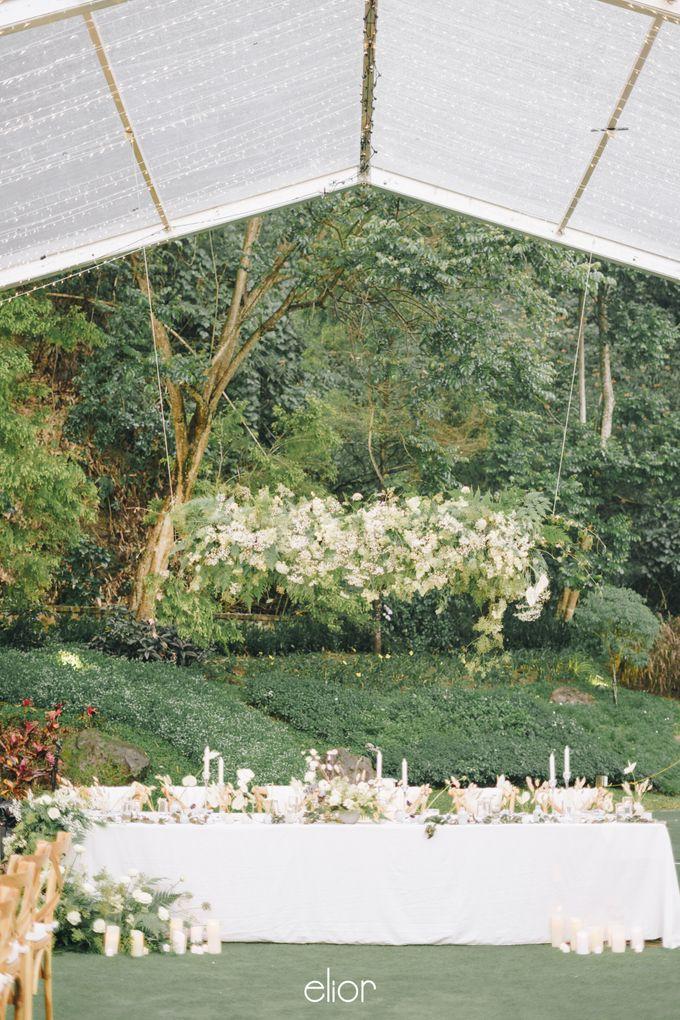 The Wedding Of David & Felicia by Elior Design - 040