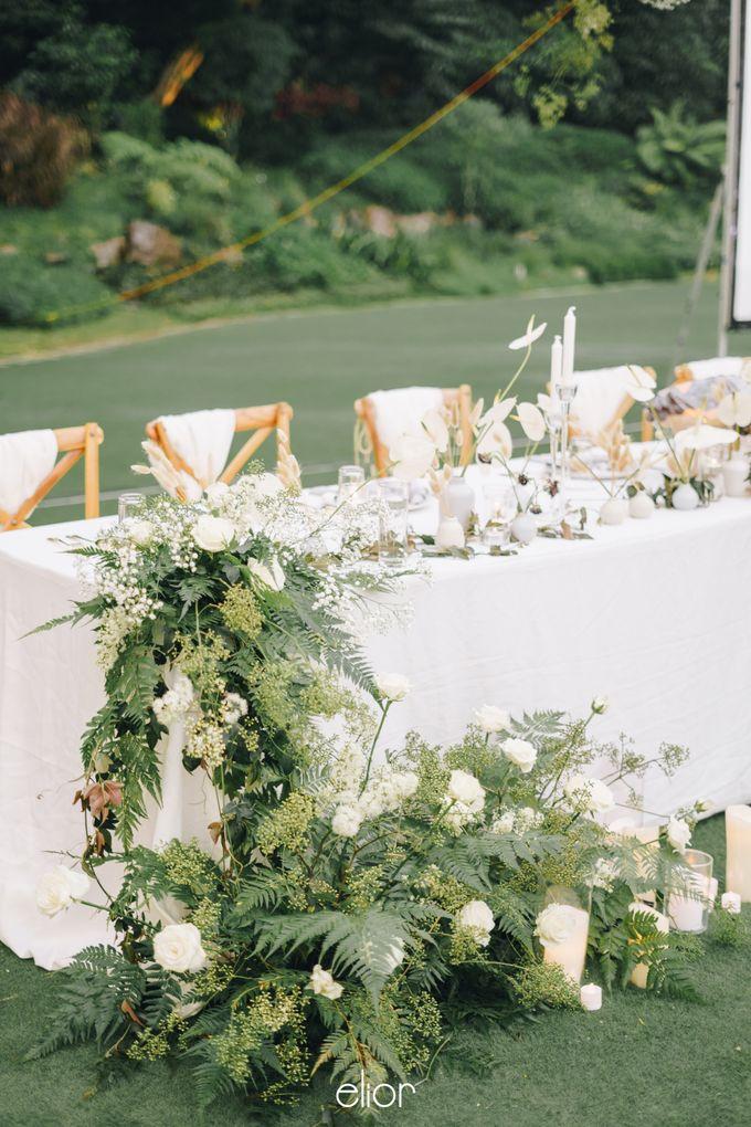 The Wedding Of David & Felicia by Elior Design - 041