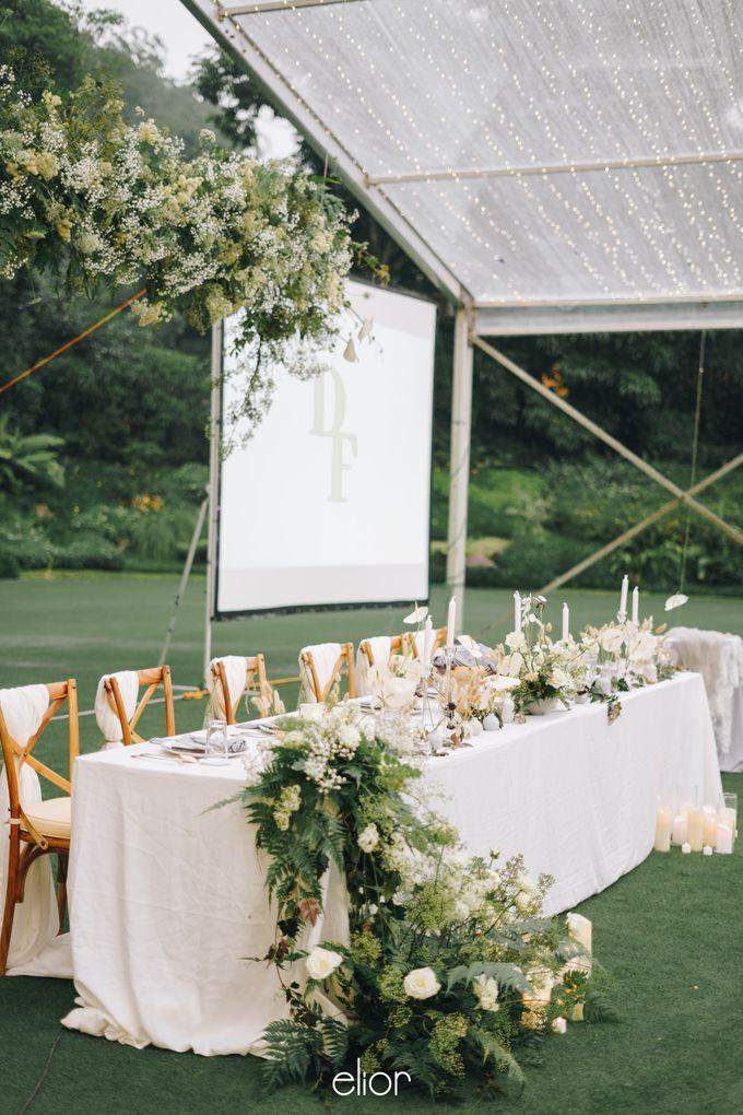 The Wedding Of David & Felicia by Elior Design - 042