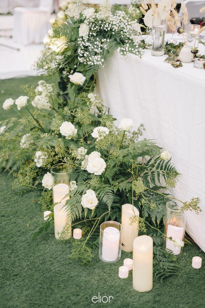 The Wedding Of David & Felicia by Elior Design - 043