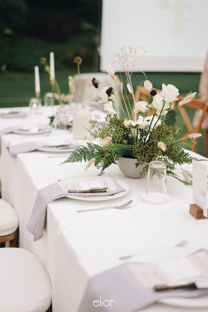 The Wedding Of David & Felicia by Elior Design - 044