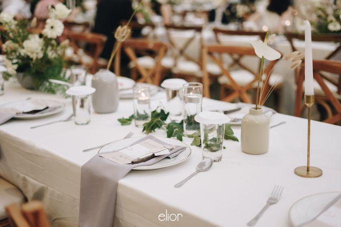 The Wedding Of David & Felicia by Elior Design - 045