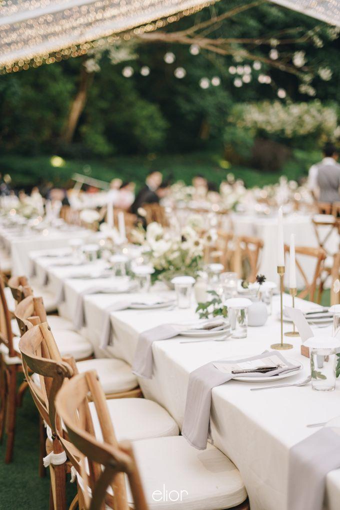 The Wedding Of David & Felicia by Elior Design - 046