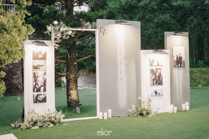 The Wedding Of David & Felicia by Elior Design - 047